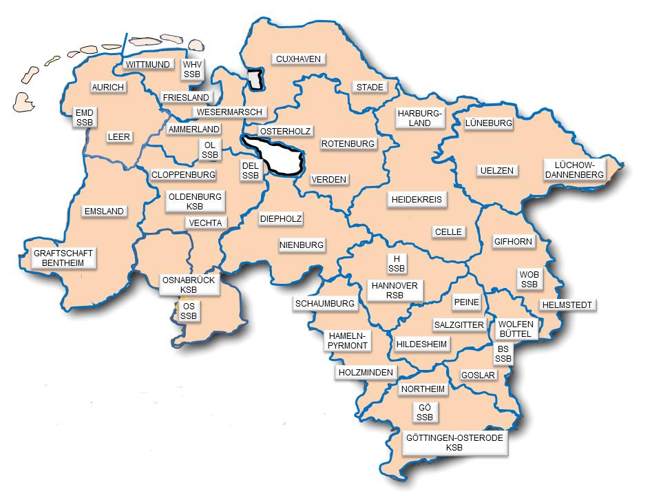 Niedersachsen Karte Pdf.Bildungsportal Landessportbund Niedersachsen